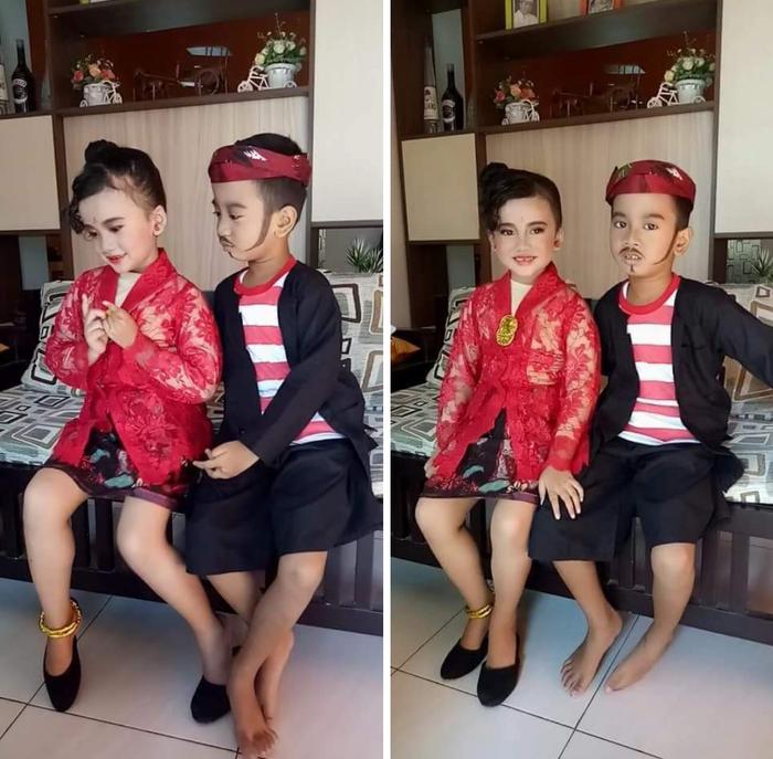 Baju Adat Madura untuk Anak