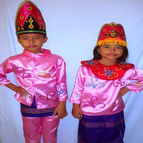 Baju Adat Melayu Keseharian Untuk Anak anak