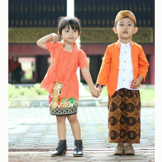Baju Adat Sunda untuk Anak-anak