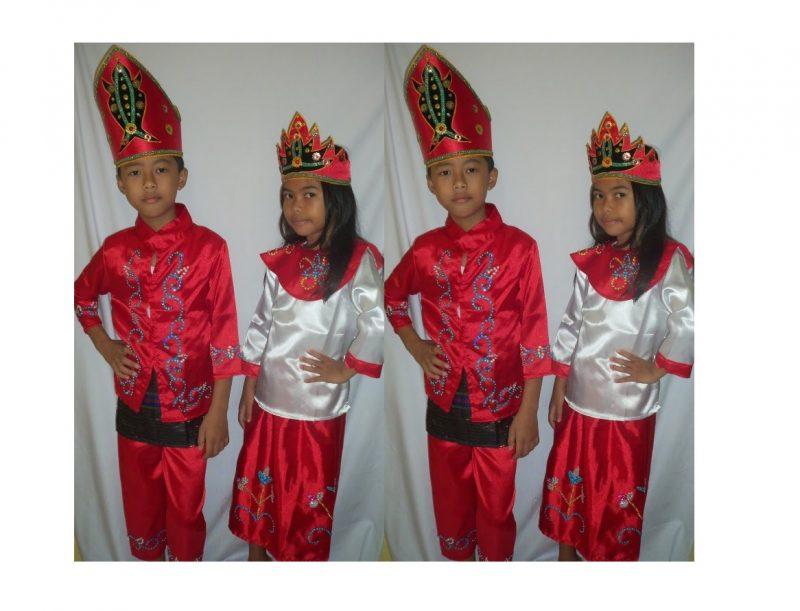 Baju Adat Ambon untuk Anak Anak