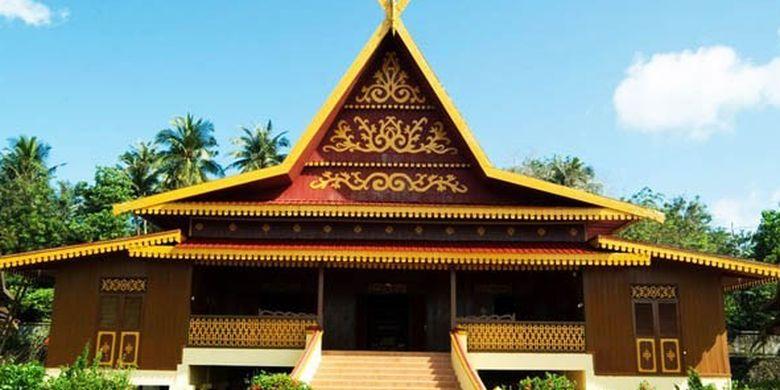 Rumah Adat Suku Melayu
