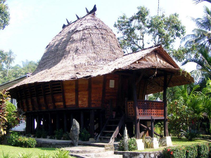 Rumah Adat Suku Nias